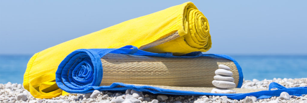 Sommer, Sonne, Strand & Meer: Mit einer Strandmatte als Werbeartikel am richtigen Fleck werben