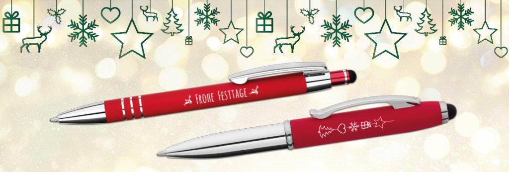Kugelschreiber als Werbegeschenke zu Weihnachten: stressfreie Feiertage mit der rechtzeitigen Planung